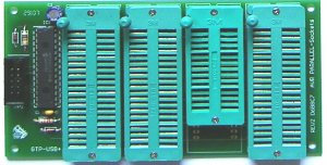 ZIF Sockets  Atmel - Parallel Programming