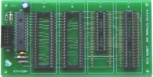 DIP Sockets  Atmel - Parallel Programming