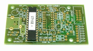 Kit PCB + PIC18F2550-I/SP and firmware GTP-USB+